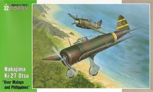 Special Hobby 1/32 Nakajima Ki-27 Otsu Over Malaya and Philippines # 32040