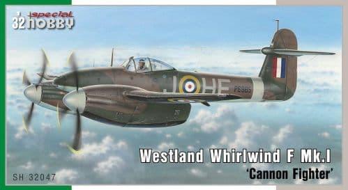 Special Hobby 1/32 Westland Whirlwind Mk.I # 32047