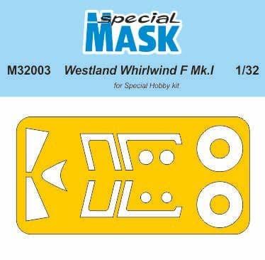 Special Hobby 1/32 Westland Whirlwind Mk.I Paint Mask # M32003