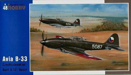 Special Hobby 1/48 Avia B-33 Czechoslovakian Built Ilyushin II-10 'Beast' # 48047