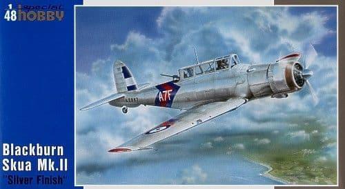 Special Hobby 1/48 Blackburn Skua Mk.II Silver Finish # 48085