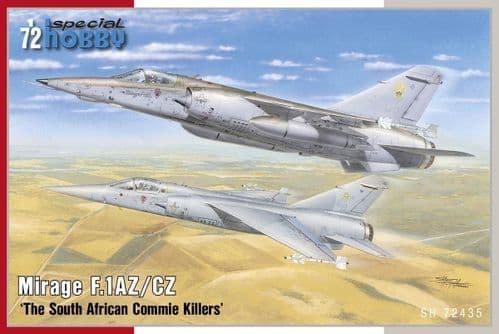 Special Hobby 1/72 Dassault Mirage F.1AZ/CZ