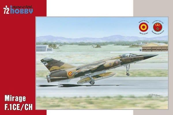 Special Hobby 1/72 Dassault Mirage F.1CE/CH # 72289
