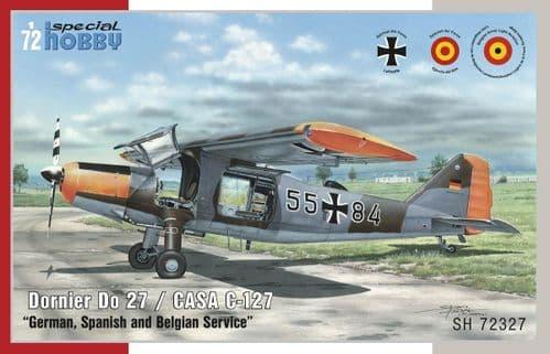 Special Hobby 1/72 Dornier Do-27/CASA C-127