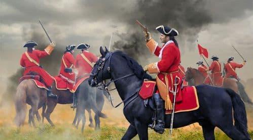 Strelets 1/72 British Cavalry War of Spanish Succession # 238