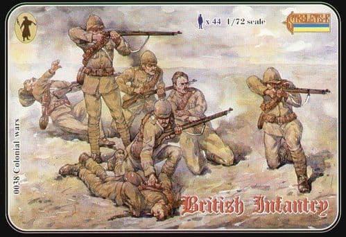 Strelets 1/72 British Infantry Anglo/Boer War # 03872