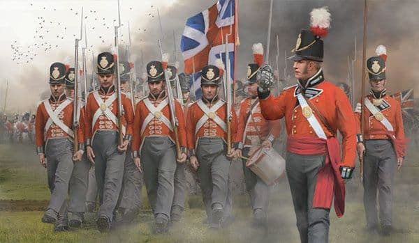 Strelets 1/72 British Infantry on the March # 141