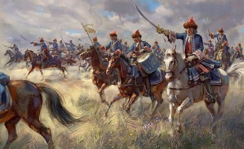 Strelets 1/72 French Royal Horse Grenadiers War of the Spanish Succession # 24172