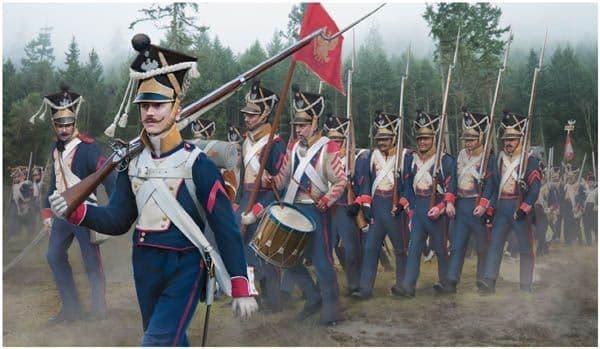 Strelets 1/72 Polish Infantry on the March # 142
