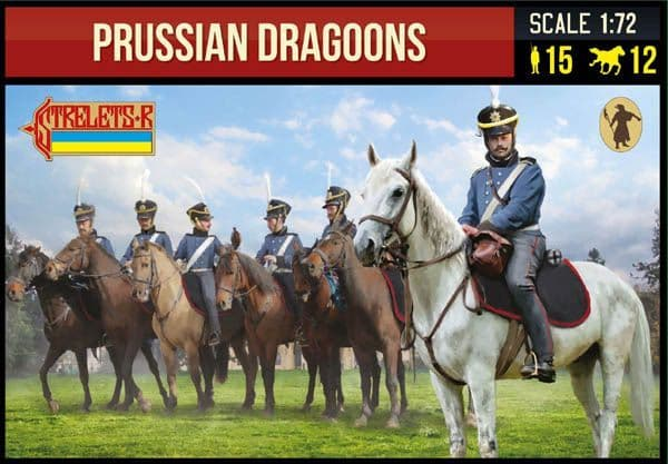 Strelets 1/72 Prussian Dragoons Napoleonic # 229