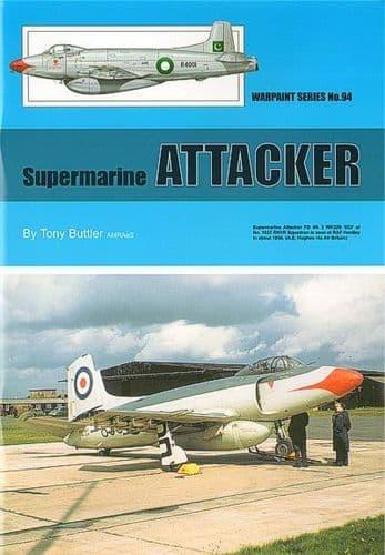 Supermarine Attacker - By Tony Buttler