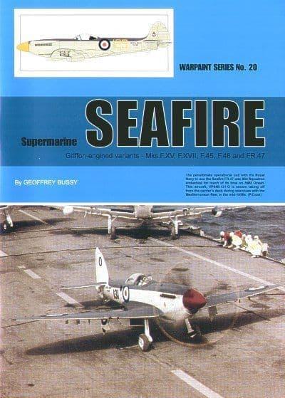Supermarine Seafire (Griffon) - By Geoffrey Bussy