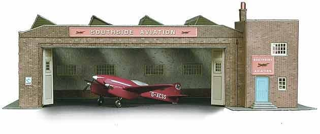 Superquick 1/72 Depot Building (B34) # 99034
