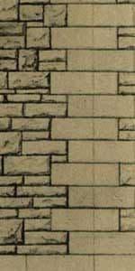 Superquick 1/72 Grey Rubble Walling Paper (D12) # 99082