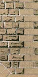 Superquick 1/72 Grey Sandstone Ashlar Walling Paper (D8) # 99078