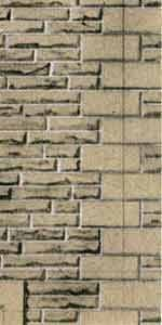 Superquick 1/72 Grey Sandstone Coursers Walling Paper (D10) # 99080