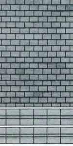 Superquick 1/72 Grey Slate Building Paper (D5) # 99075