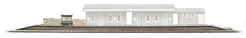 Superquick 1/72 Island Platform 610mm Long (A3) # 99002