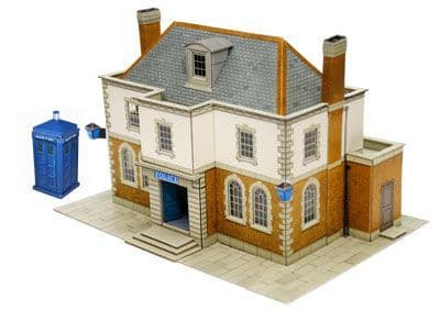 Superquick 1/72 Police Station or Library (B25) # 99025