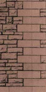 Superquick 1/72 Red Rubble Walling Paper (D13) # 99083