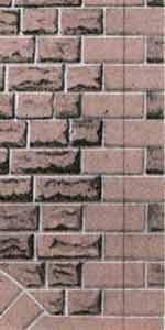 Superquick 1/72 Red Sandstone Ashlar Walling Paper (D9) # 99079