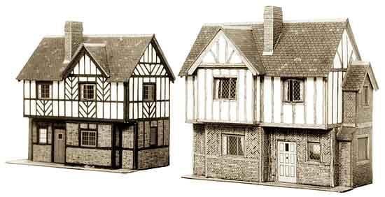 Superquick 1/72 Two Elizabethan Cottages (B28) # 99028