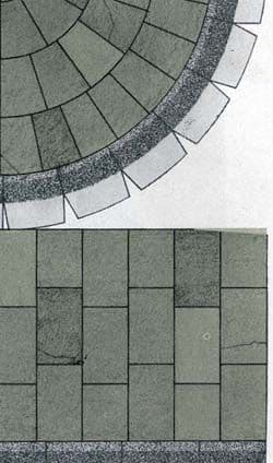 Superquick Grey Paving Stone Papers (D6) # 99076