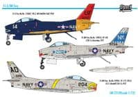 Sword 1/72 North-American FJ-3/FJ-3M Fury # 72139