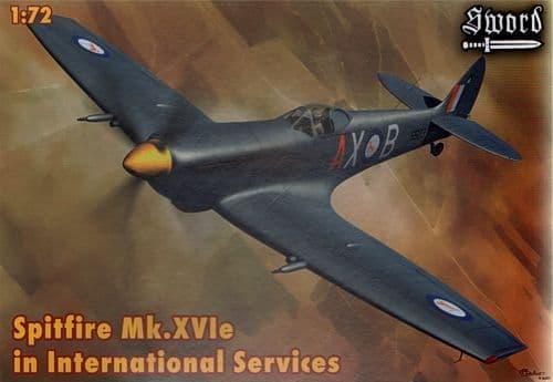 Sword 1/72 Supermarine Spitfire Mk. XVIe in International Service # 72068