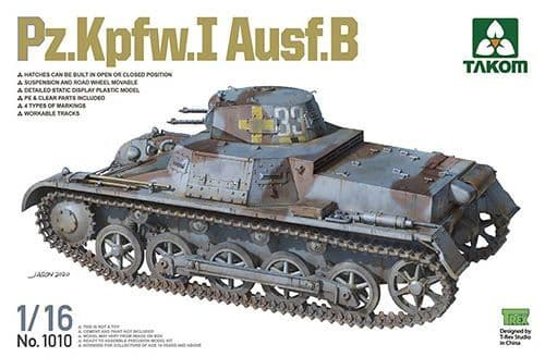 Takom 1/16 Pz.Kpfw.I Ausf. B # 01010