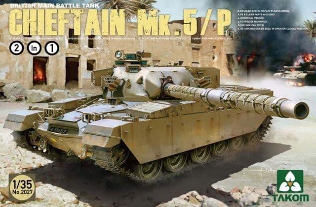Takom 1/35 Chieftain Mk.5/5P British Main Battle Tank # 02027