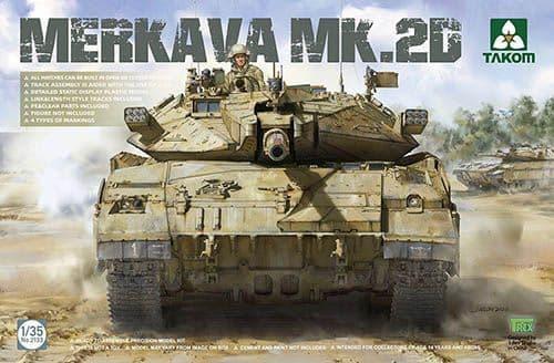 Takom 1/35 Merkava Mk.2D IDF Main Battle Tank # 02133