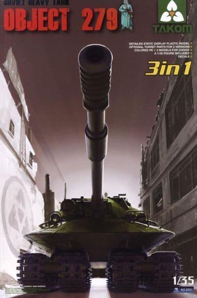 Takom 1/35 Object 279 Soviet Heavy Tank (3 in 1) # 02001