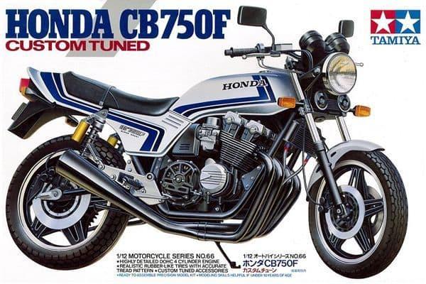 Tamiya 1/12 Honda CB750F Custom Tuned # 14066