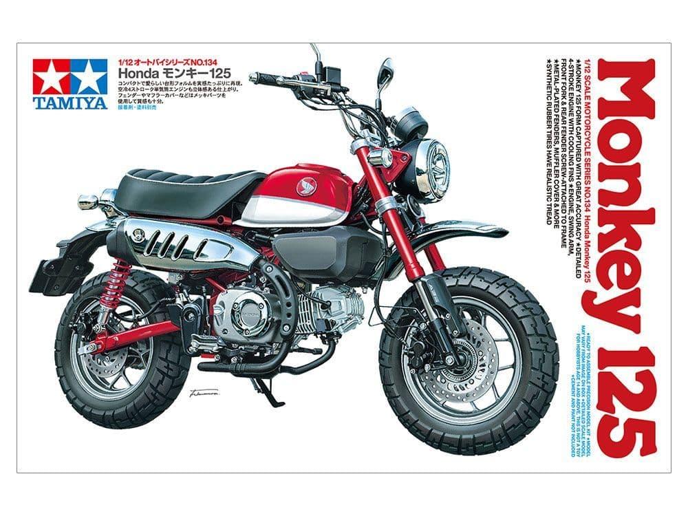 Tamiya 1/12 Honda Monkey 125 # 14134