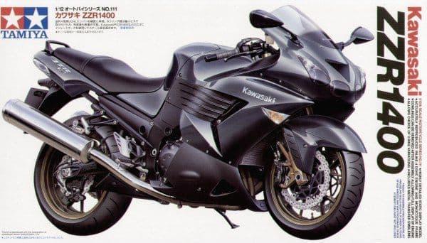 Tamiya 1/12 Kawasaki ZZR 1400 # 14111