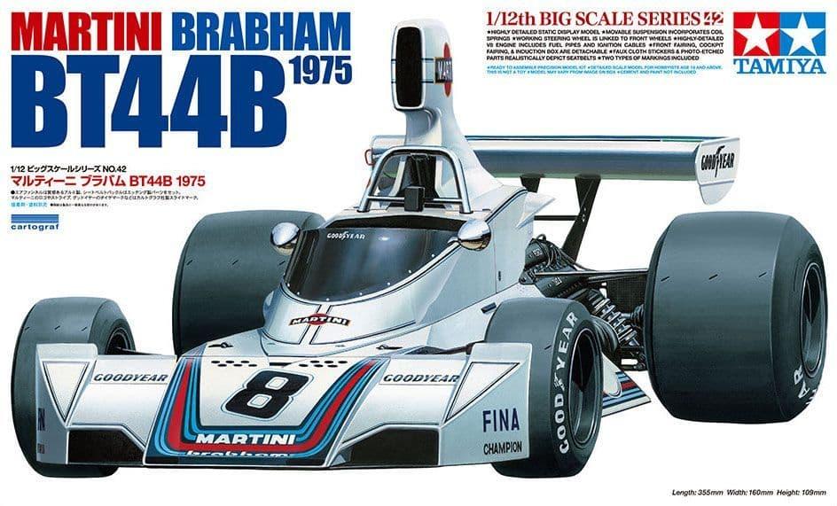 Tamiya 1/12 Martini Brabham BT44B 1975 # 12042