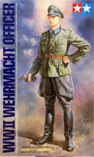 Tamiya 1/16 WWII Wehrmacht Officer # 36315