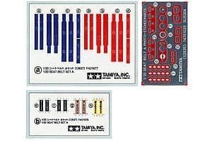 Tamiya 1/20 Seat Belt Set A # 12637