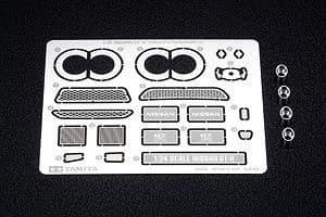 Tamiya 1/24 Nissan GT-R etched parts # 12623