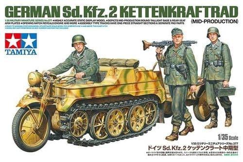 Tamiya 1/35 German Sd.Kfz.2 Kettenkraftrad (Mid-Production) # 35377