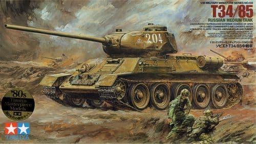 Tamiya 1/35 T-34/85 Russian Medium Tank # 35138