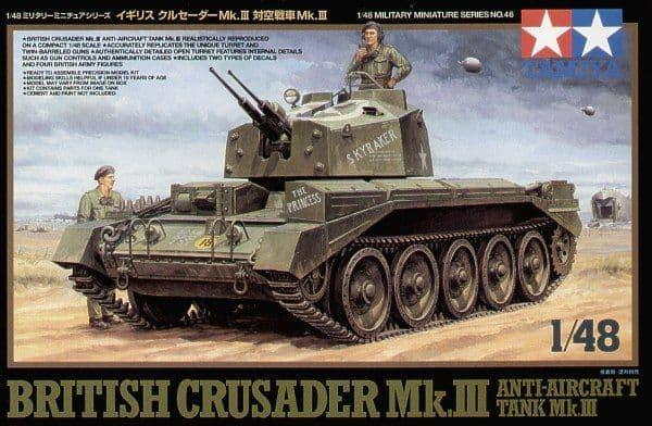 Tamiya 1/48 British Crusader Mk.III Anti-Aircraft Tank # 32546