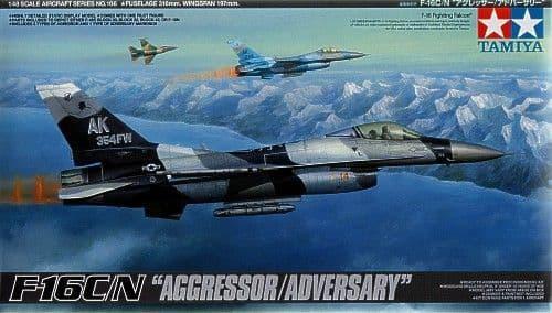 Tamiya 1/48 F-16C/N Aggressor / Adversary # 61106