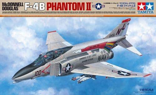 Tamiya 1/48 McDonnell-Douglas F-4B Phantom II # 61121