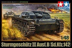 Tamiya 1/48 Sturmgeschutz III Ausf. B (Sd.Kfz.142) # 32507