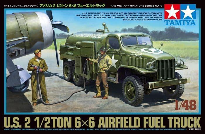 Tamiya 1/48 U.S. 2 1/2Ton 6x6 Airfield Fuel Truck # 32579