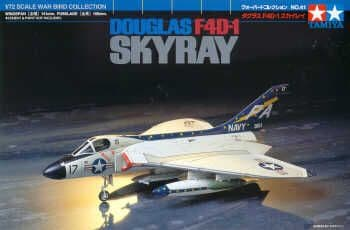 Tamiya 1/72 Douglas F4D-1 Skyray # 60741