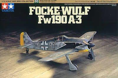 Tamiya 1/72 Focke Wulf 190 A-3 # 60766