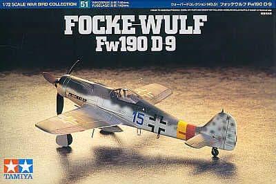 Tamiya 1/72 Focke-Wulf Fw190 D-9 # 60751